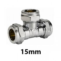 15mm Chrome Compression Fittings