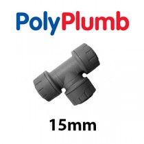 15mm PolyPlumb Grey Fittings