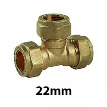 22mm Brass Compression Fittings