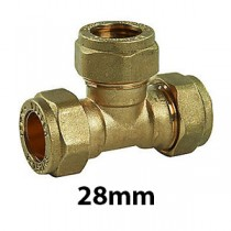 28mm Brass Compression Fittings