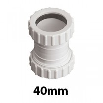 40mm Mechanical/Compression Waste Fittings