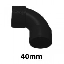 40mm Black Solvent Waste Fittings & Pipe