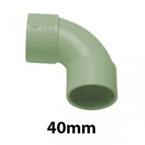 40mm Olive Grey Solvent Waste Fittings & Pipe
