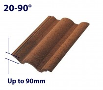 Up to 90mm Profile Tile Recessed Flashings