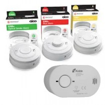 Smoke alarms & CO Detectors
