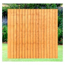Featheredge Closeboard Panels