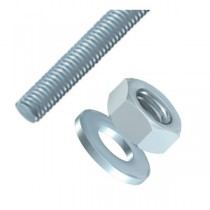 Threaded Bar, Nuts & Washers