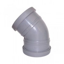 Light Grey Pushfit Soil Fittings & Pipe
