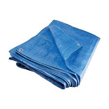TimcoShield LD 5m x 8m All-Purpose Tarpaulin (80gsm) - Blue