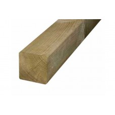 75 x 75 x 3000mm Brown Pressure Treated Fencing Post Post
