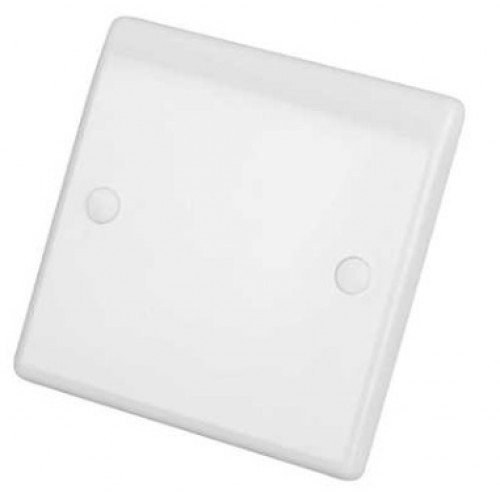 Selectric Smooth Blanking Plate - 1 Gang