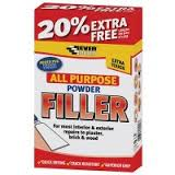 Everbuild All Purpose White Powder Filler - 450g