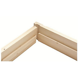 "5.25"" (32x138mm) Door Liner Set (w/ Stops, 2'6"" & 2'9"")"
