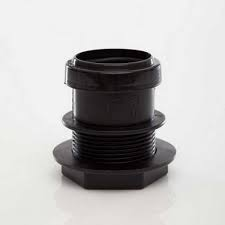 32mm Push Fit Waste Tank Connector - Black