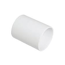 32mm Solvent Weld Waste Straight Coupler - White