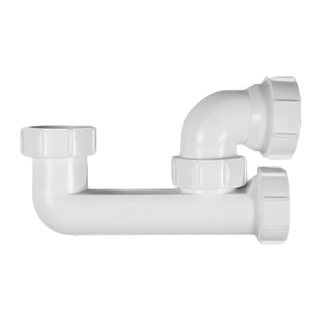 40mm Bath trap: Lowline Bath P Trap - (WT67)