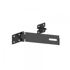 "GateMate 7"" (180mm) Heavy Duty Safety Hasp & Staple - Black"