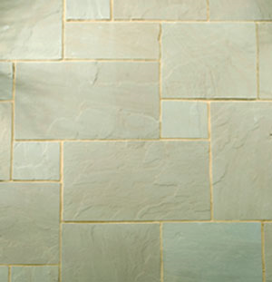 Sandstone Thins (15-25mm) - Raj - Patio Mixed Sizes