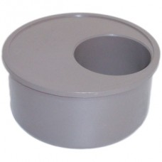 110mm Solvent Weld Reducer to 50mm - Olive Grey