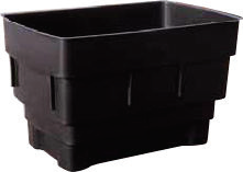 40 Gallon Rectangular Cold Water Storage Tank, Lid, Jacket & Fittings Pack  - 940x610x590mm