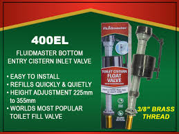 "Fluidmaster 3/8""  Bottom Entry Brass Shank Filling Valve (400EL)"