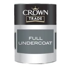 Crown Trade Full Undercoat - 1l - Charcoal Grey