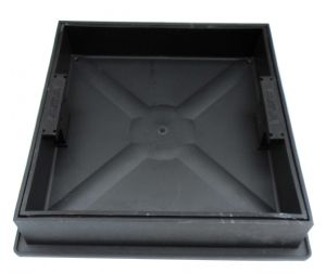 320mm Square Recessed Block Paving Cover & Frame