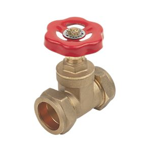 15mm Brass Standard Gate Valve