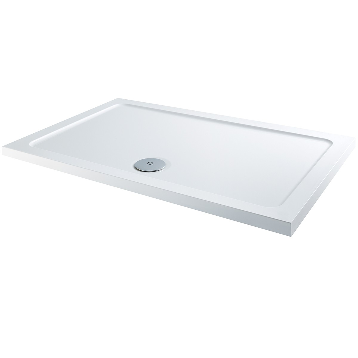 K-Vit 1200 x 900mm Rectangle L/P Shower Tray (c/w Fast Flow Waste)