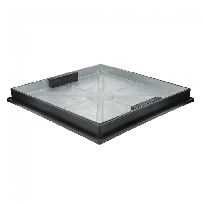 300mm Clear Opening Sealed and Locked Recessed Tray (440mm)