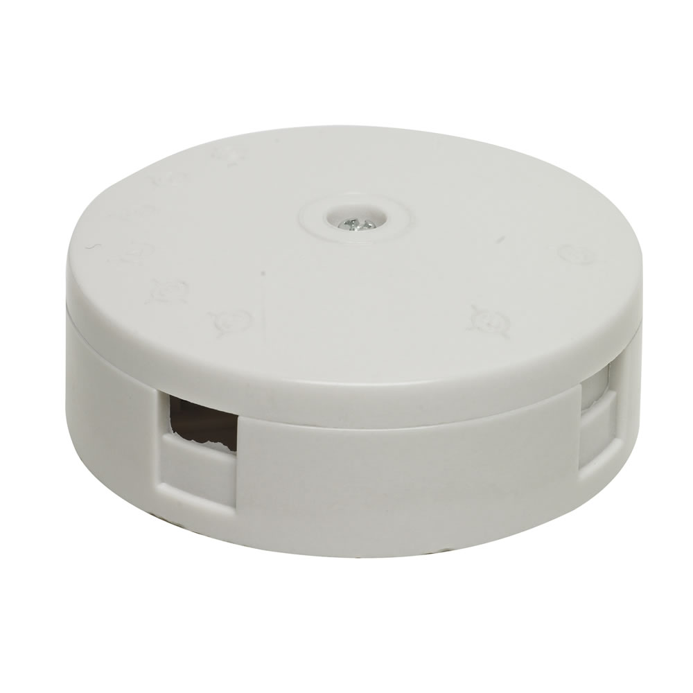 Selectric 20A 4-Way Junction Box - 59mm (White)