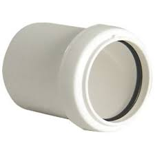 Universal Coupler Solvent to Pushfit Coupling -White