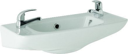 K-Vit G4K Cloakroom Basin 510mm 2TH