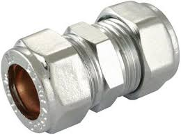 15mm Chrome Compression Coupling