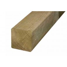 100 x 100 x 2400mm Brown Pressure Treated Fencing Timber Post