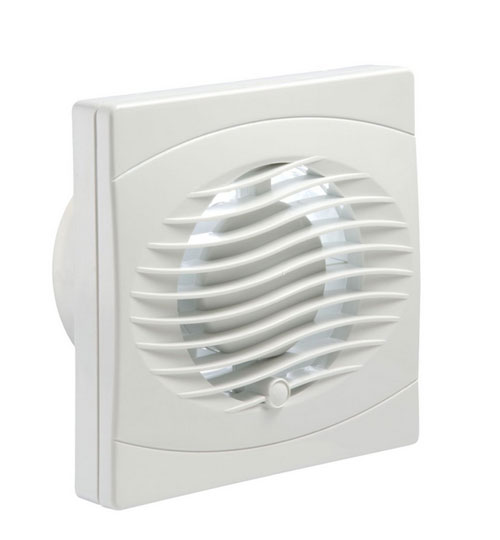 "100mm (4"") Timed Wall Extractor Fan"