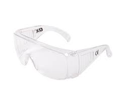 Ox Pro Wrap Around Safety Glasses - Clear