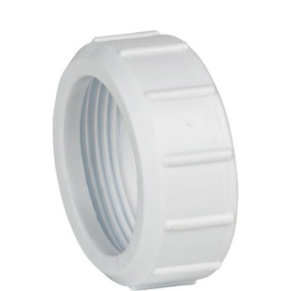 32mm Replacement Trap Nut - White