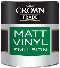 Crown Trade Essentials Matt Emulsion - 2.5l - Ivory Cream