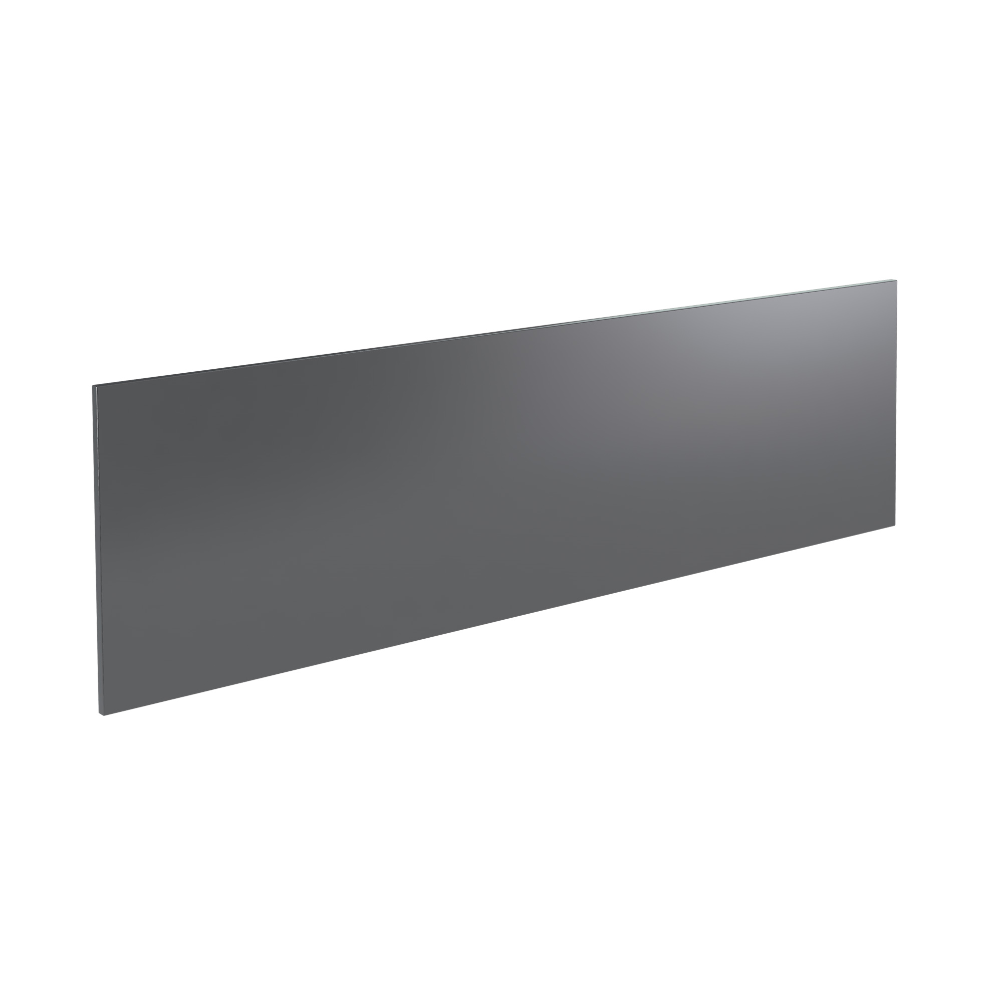 K-Vit Ikon 1700mm Bath Panel - Gloss Grey