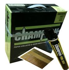 Champion 90 x 3.1mm Galv 2200 Nails (2 Fuel Cells)