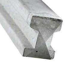 Concrete Intermediate Slotted Post - 8' (2.4m)