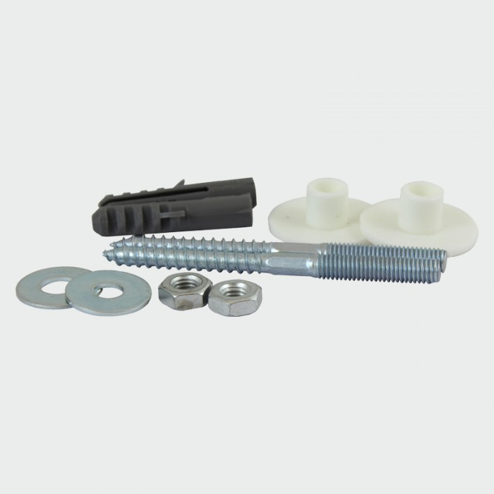 Sanitary Basin Fixing Kit: Light Duty 8mm x 100