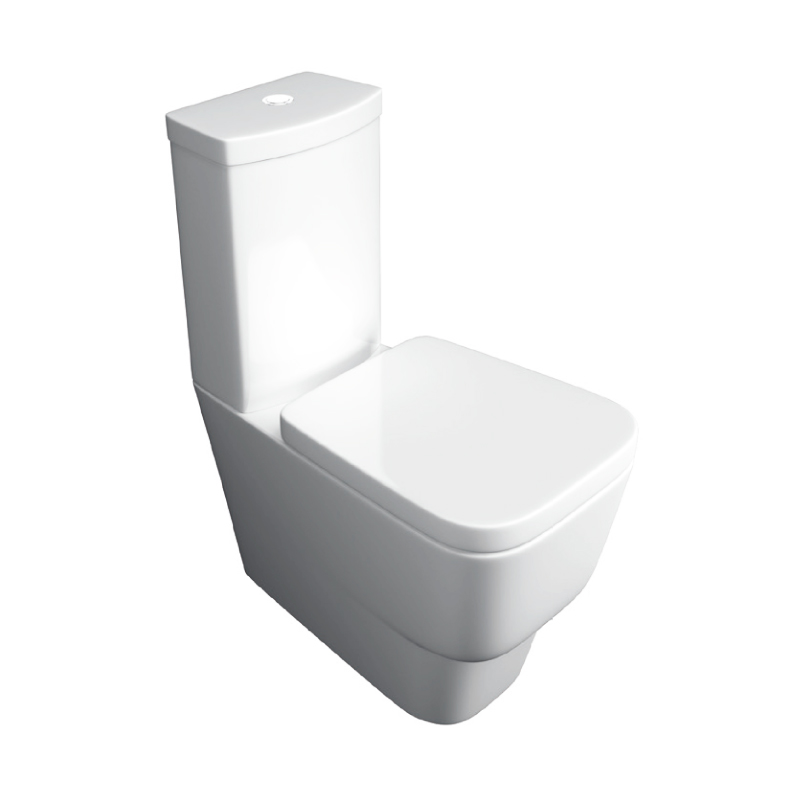 K-Vit Napoli Close Coupled WC Pan & Cistern (Seat Not Included)