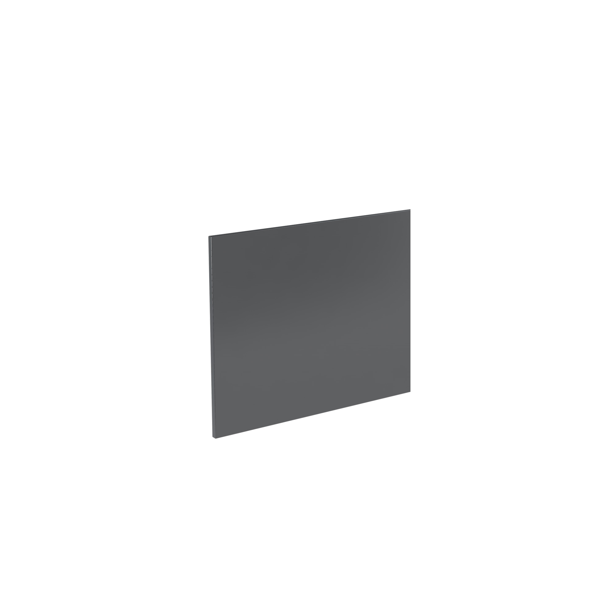 K-Vit Ikon 750mm Bath Panel - Gloss Grey