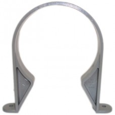 110mm Universal Pipe Clip - Olive Grey