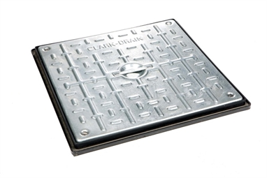 450mm x 450mm Clear Opening Sealed and Locked Cover & Frame