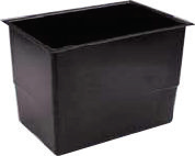 4 Gallon Rectangular Cold Water Storage Tank, Lid, Jacket & Fittings Pack  - 442x296x305mm