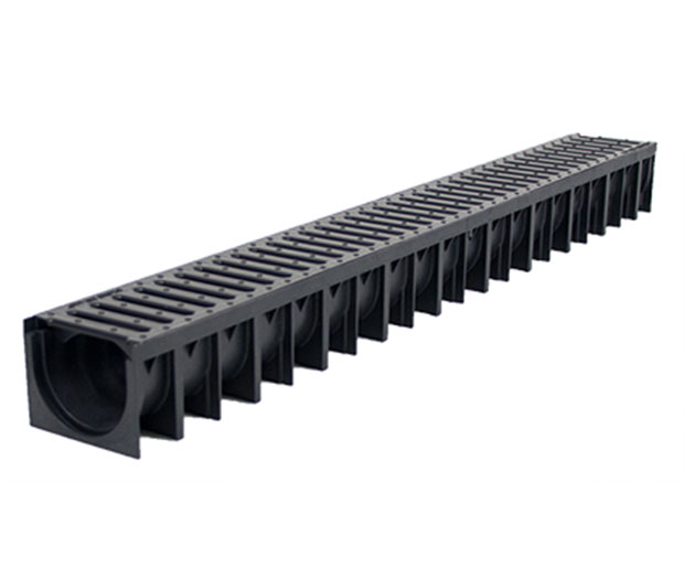 1 metre Channel Drainage and Plastic Grate