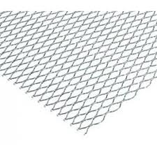 "Galvanised EML (Expanded Metal Lathe) Diamond Rib Sheet - 8' x 2'3"" (2500 x 700mm)"